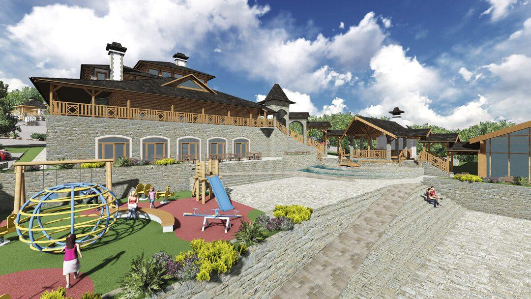 Ugostiteljsko rekreativni centar eko selo Ruža Vetrova